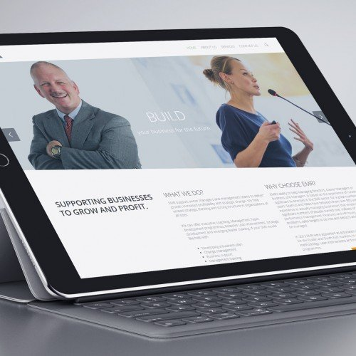 EMR Website design