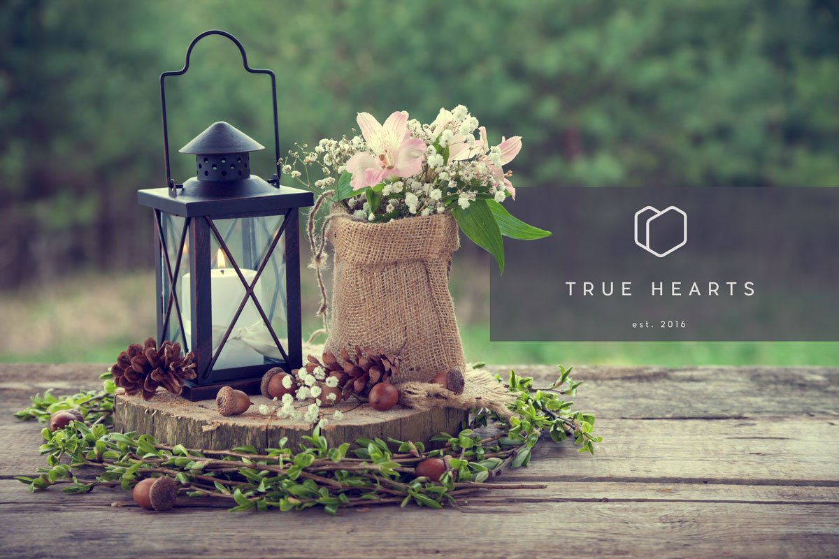Logo Design and website deign wexford true hearts wedding videography