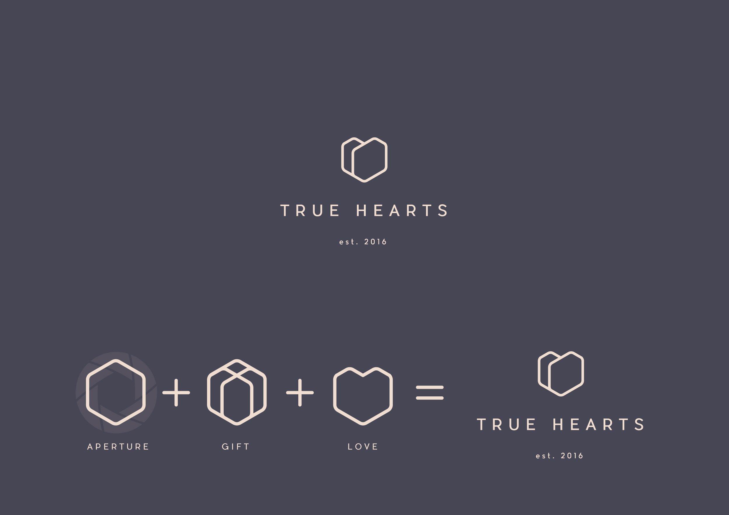 True Hearts - logo design IDI finalist 2017