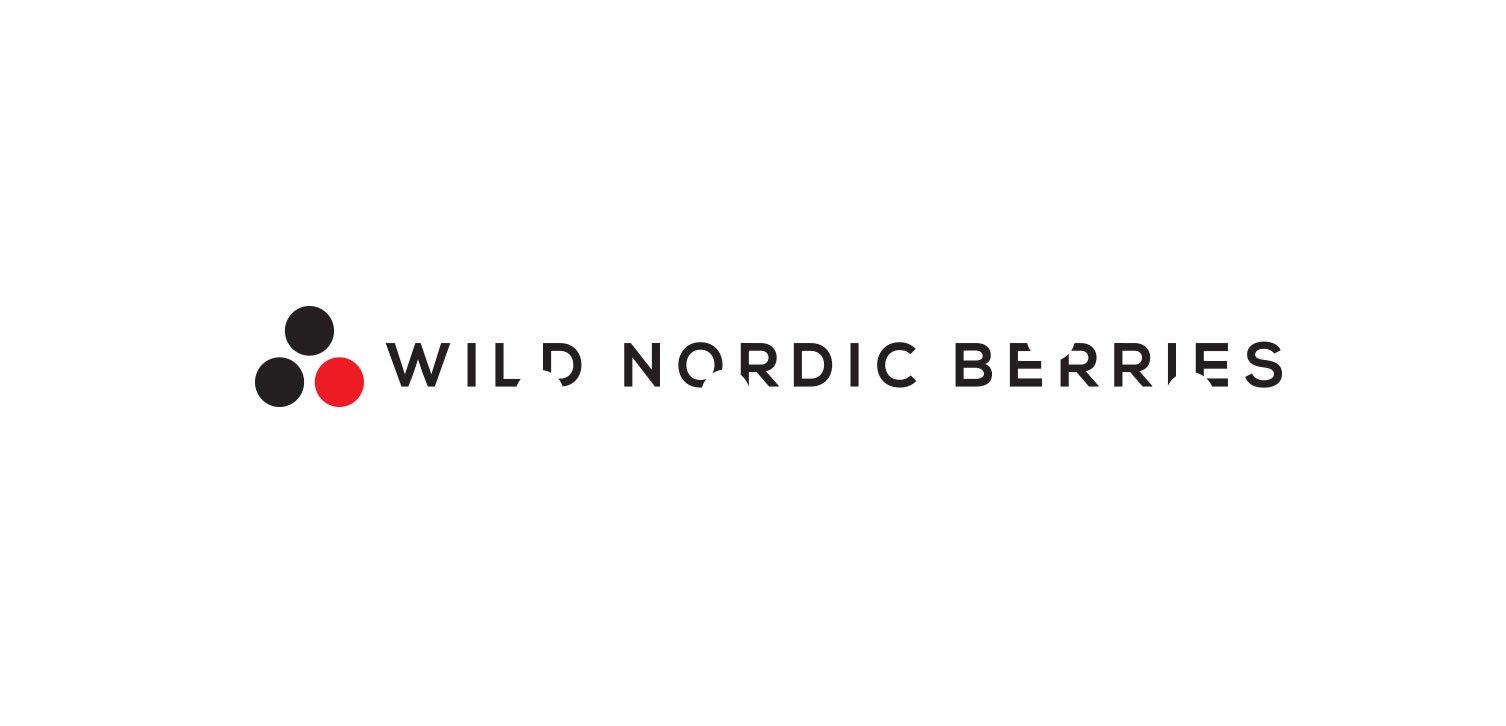 Wild Nordic Berries logo designed by pixelpod