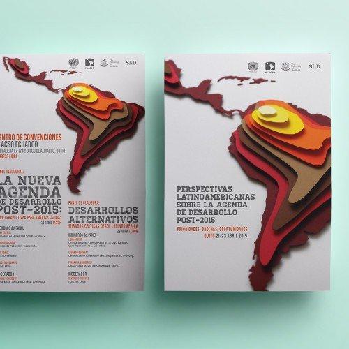 Poster, Signage design, SIID Quito, Ecuador