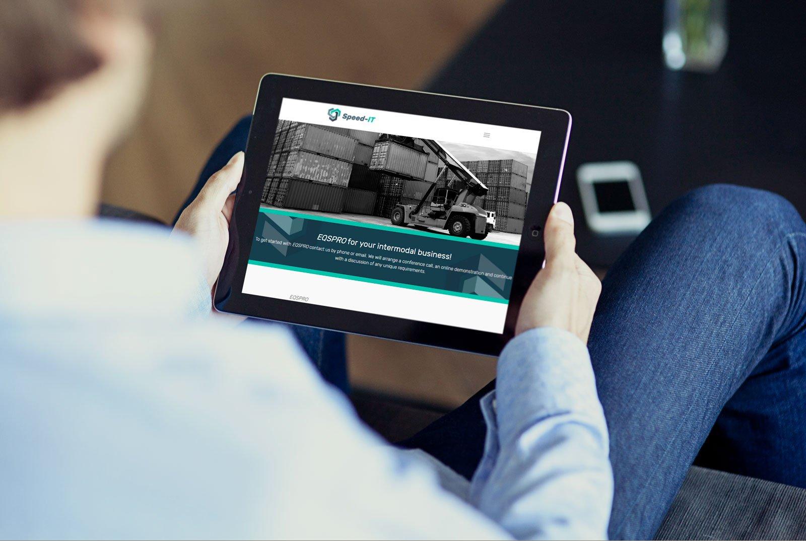Speed IT mobile ready web Design and Branding Ireland