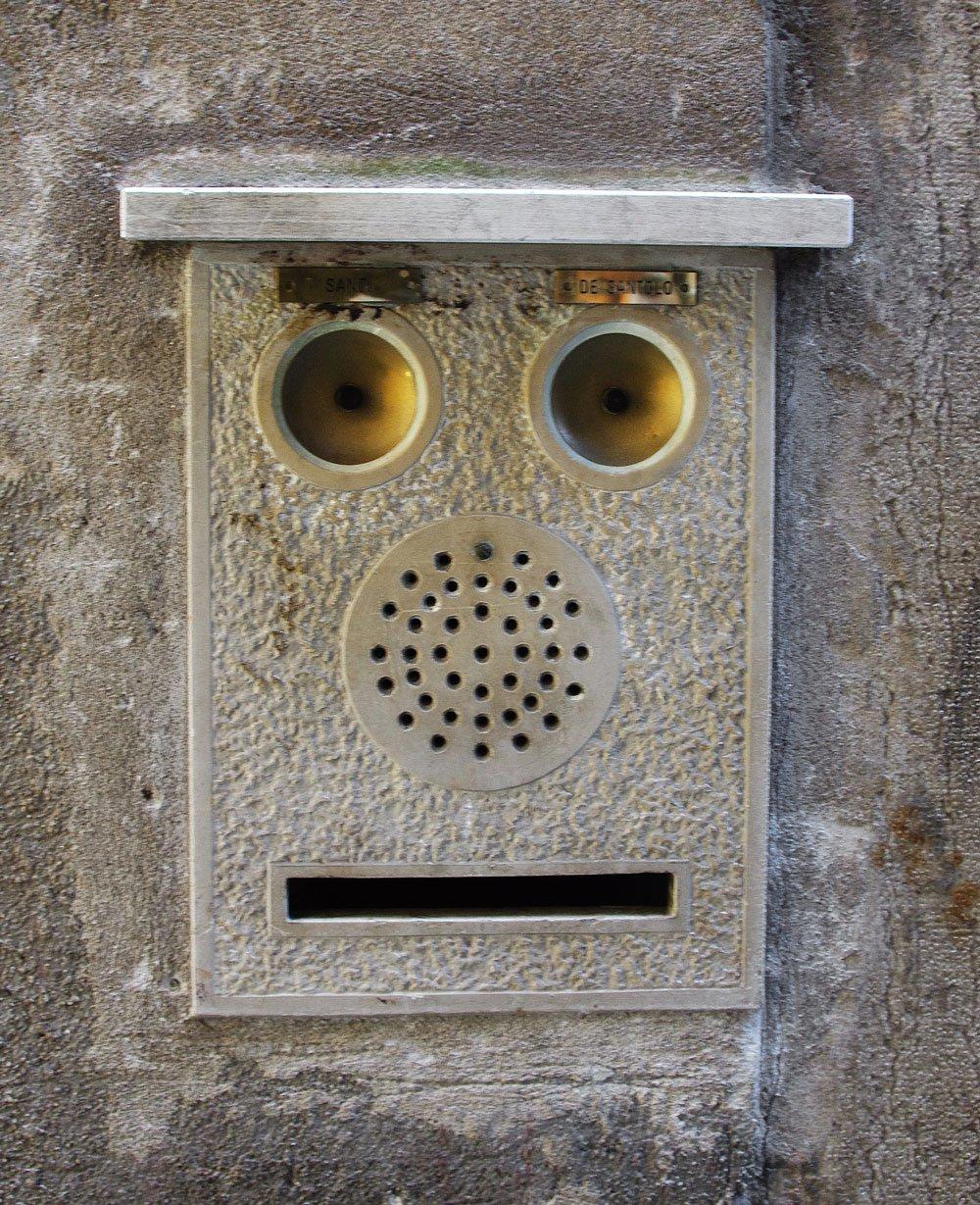 faces places post box