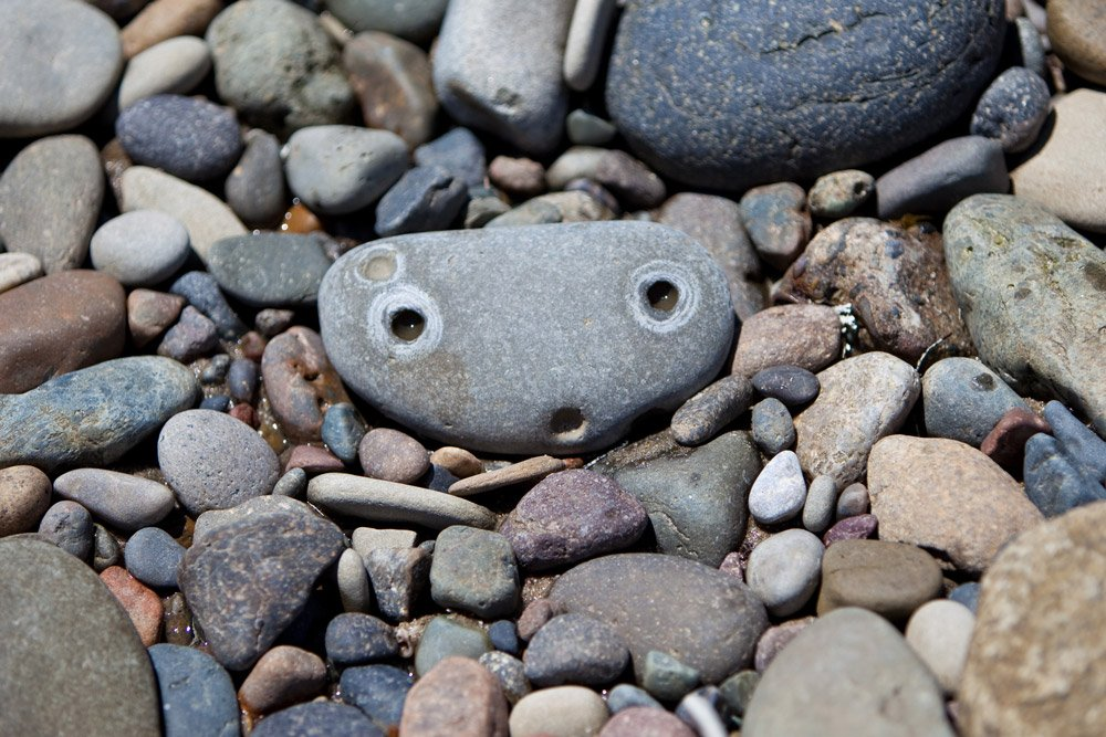 faces places stone