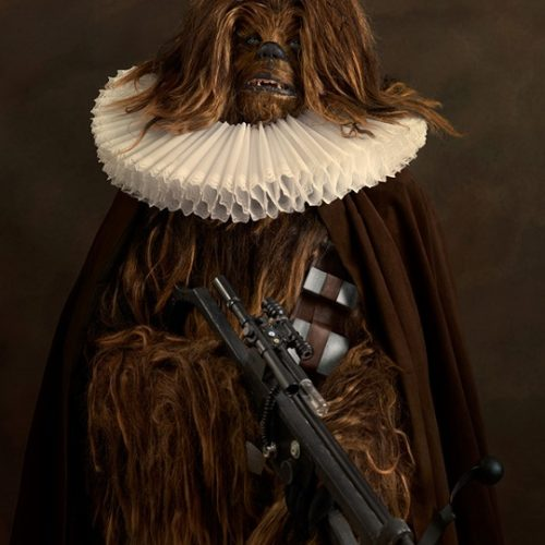 chewie Superheroes and Star Wars in the 16th-century