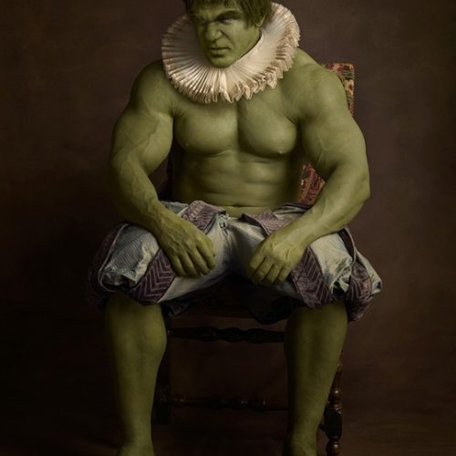 hulk Superheroes and Star Wars in the 16th-century
