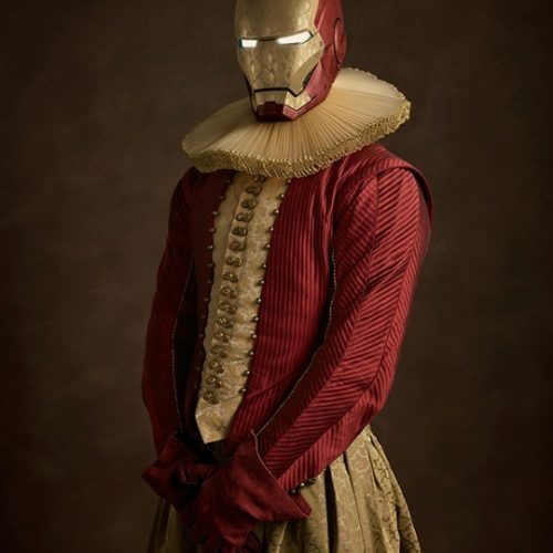 ironman Superheroes and Star Wars in the 16th-century