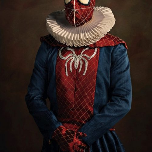 spiderman Superheroes and Star Wars in the 16th-century