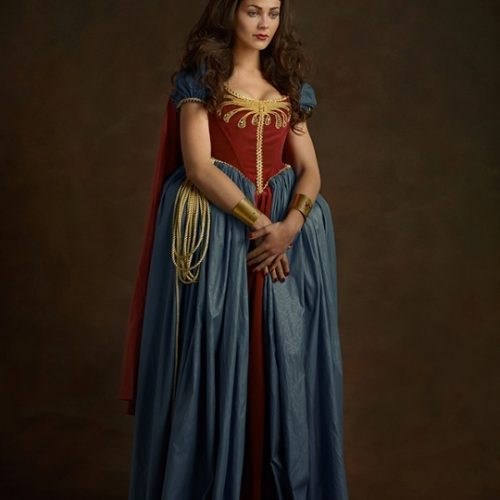 wonderwoman Superheroes and Star Wars in the 16th-century