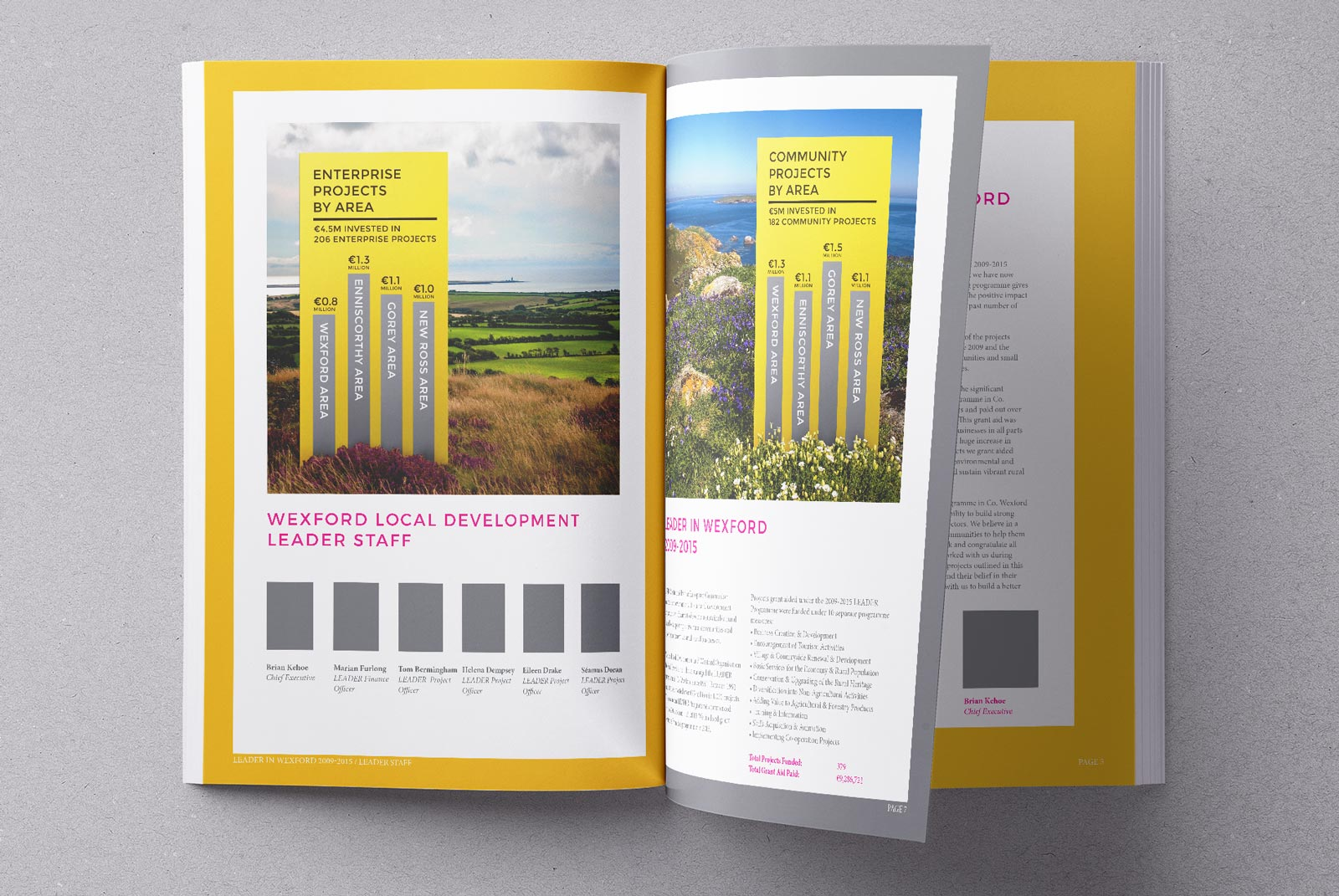 annual report design wexford. Pixelpod graphic design and branding in wexford.