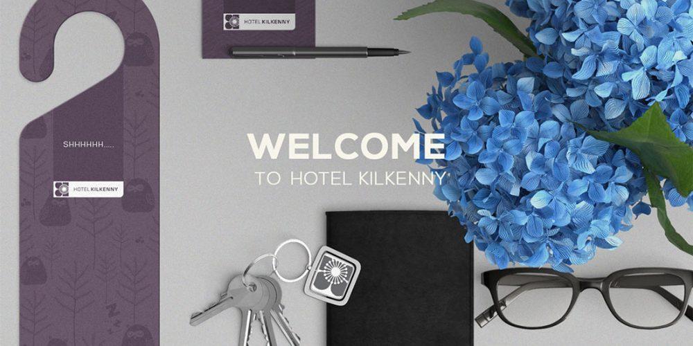 hotel kilkenny branding design logo brochures