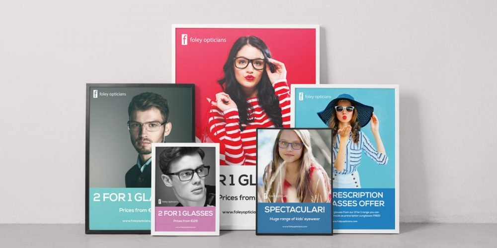 Poster design wexford. Graphic design, web design, branding Wexford.