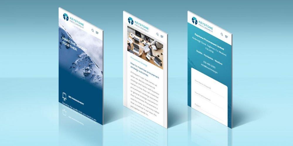 keystone procurement web design wexford pixelpod