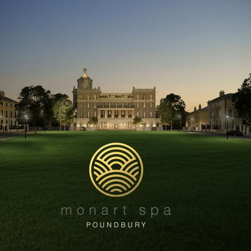 Monart Poundbury logo and branding design wexford. Pixelpod graphic design and branding in wexford.