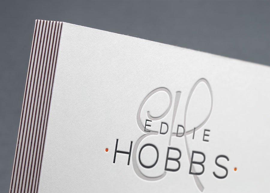 eddie hobbs logo design rebrand