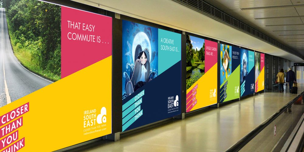Signage Branding Identity MockUp Ireland South East Economic Development