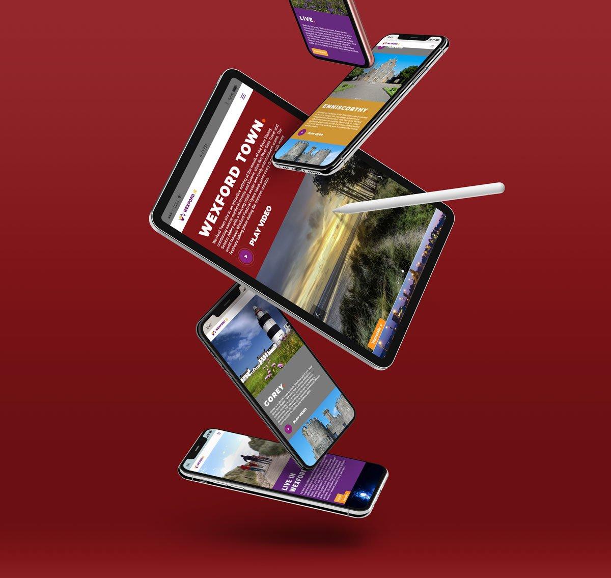 ipad iphone wexford website design