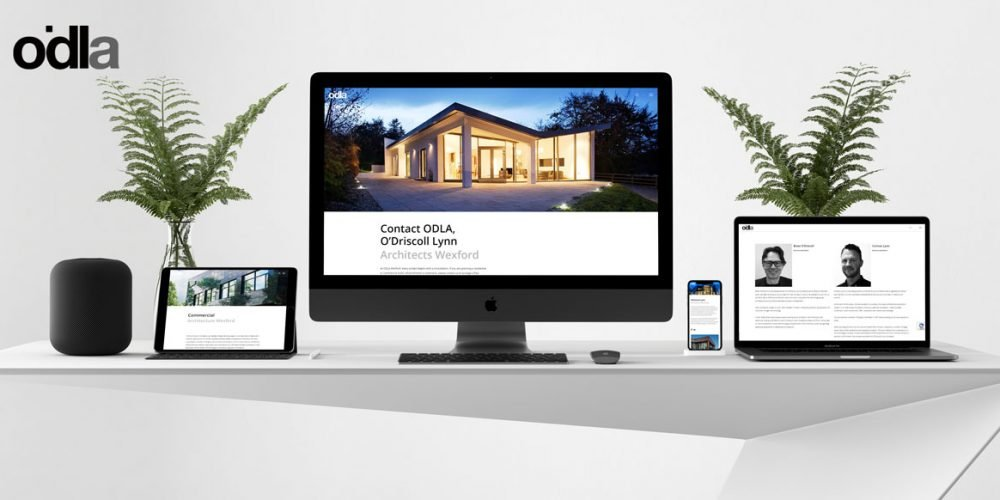 odla responsive website design by pixelpod