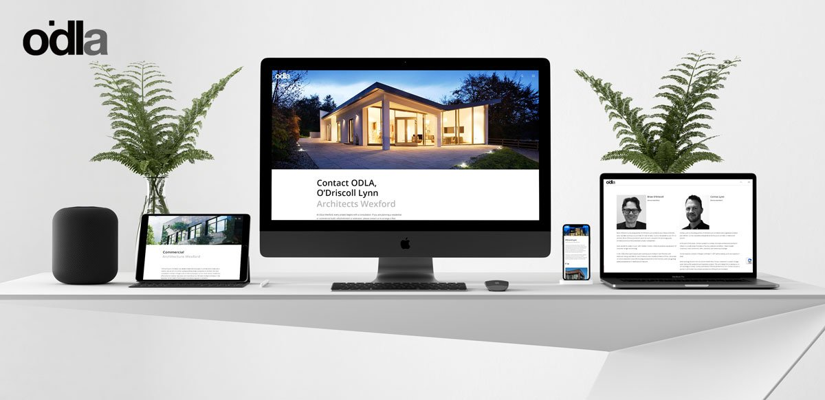 odla responsive website design by pixelpod