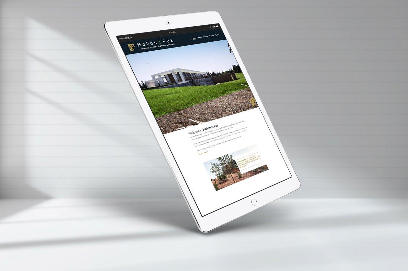 web design wexford mahon fox architects