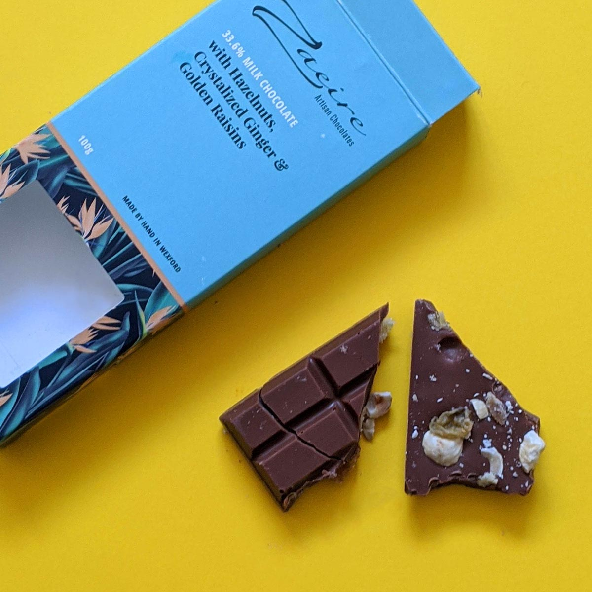 packaging design wexford Zaeire chocolate bars