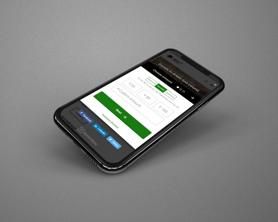 Mobile Responsive Website Design And Build In Wexford For Green Sod Ireland