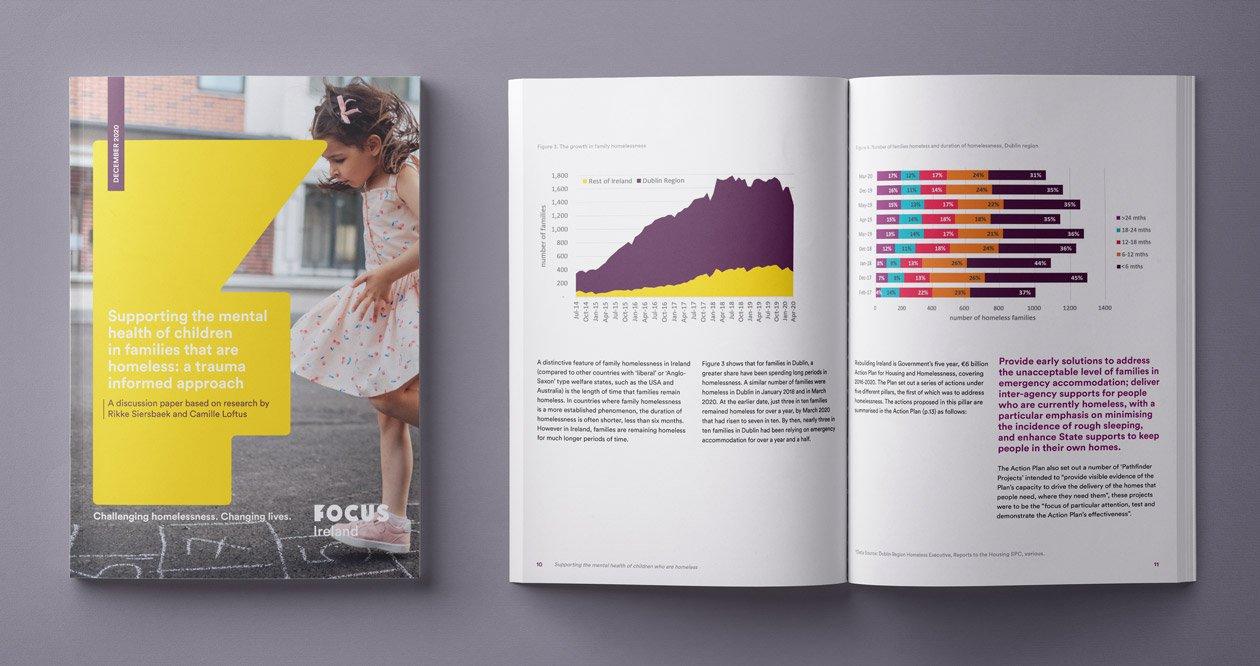 focus ireland therapeutics report design by pixelpod